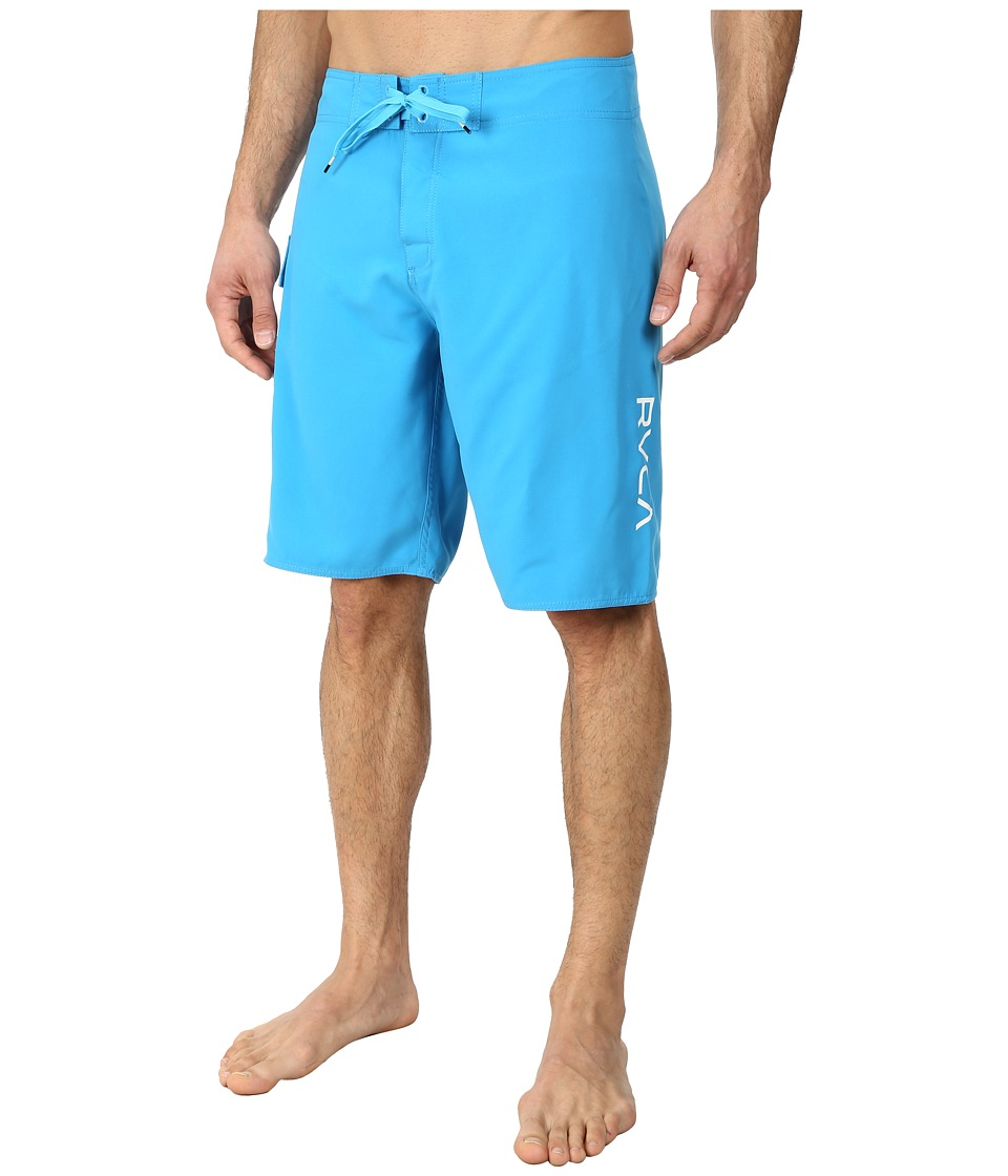 RVCA - Western II Trunk (Bright Blue) Men's Swimwear