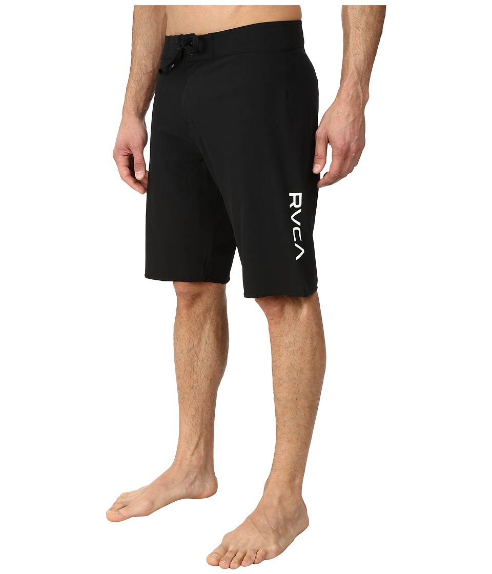 RVCA - Register II Trunk (Black) Men's Swimwear