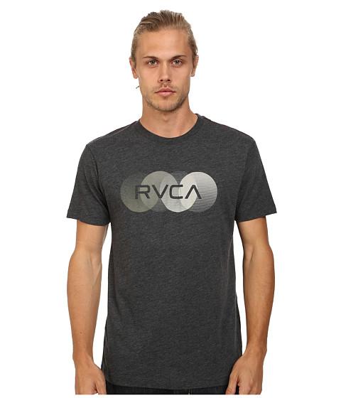 RVCA - RVCA Horizon Vintage Dye Tee (Black) Men's T Shirt