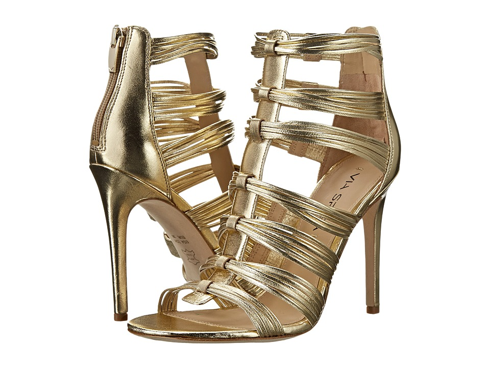 Via Spiga - Terelle (Gold Metallic Nappa) High Heels