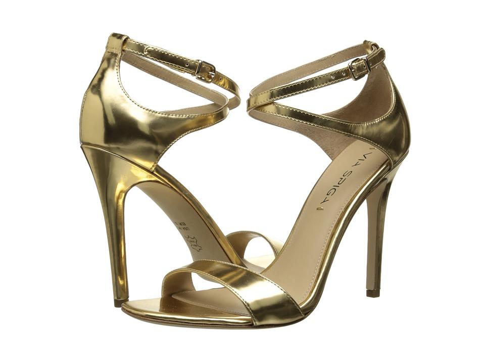 Via Spiga Tiara (Gold Specchio) High Heels