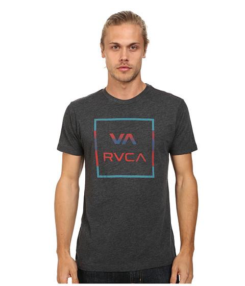 RVCA - VA All The Way Stripe Tee (Black) Men