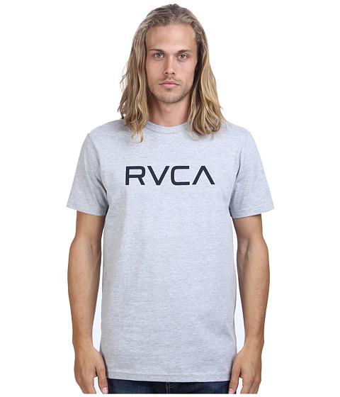 RVCA - Big RVCA Tee (Athletic Heather 1) Men's T Shirt