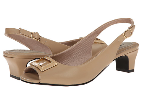 Easy Street - Imperial (Nude w/ Nude Patent Underlay) Women's Shoes