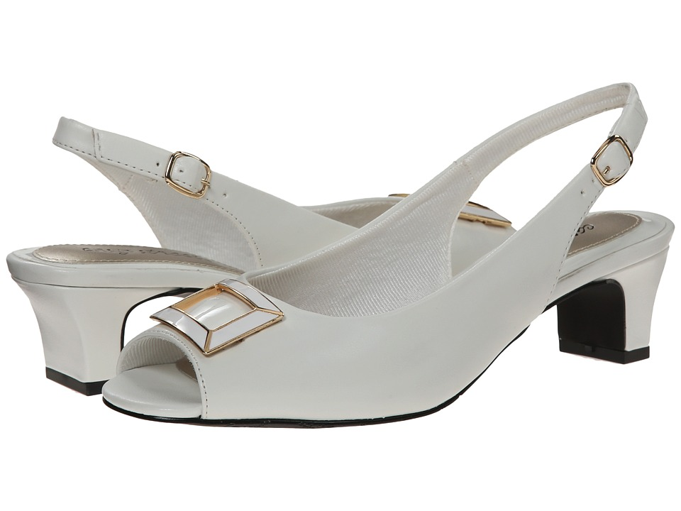 Easy Street - Imperial (White w/ White Underlay) Women's Shoes