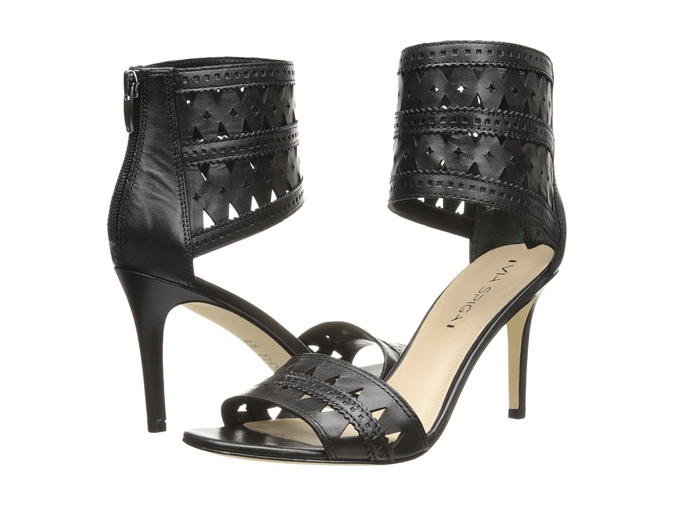 Via Spiga - Vanka (Black Nappa Leather) Women