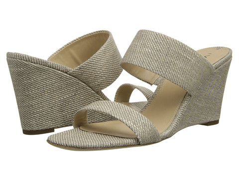Via Spiga - Wallia 2 (Natural Waxed Linen) Women's Wedge Shoes
