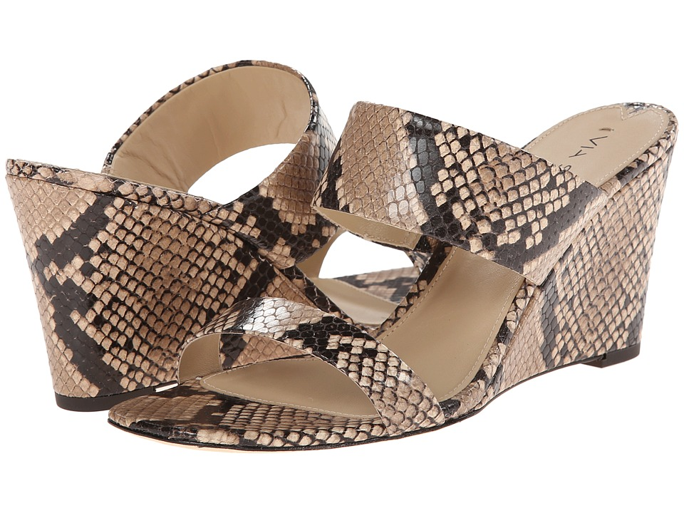 Via Spiga - Wallia 2 (Natural Printed Snake) Women's Wedge Shoes