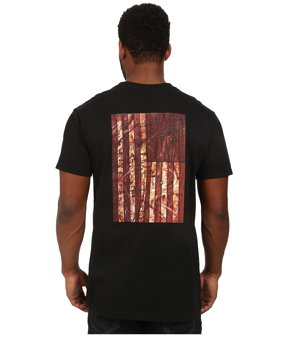 RVCA - Desert Flag Pocket Tee (Black) Men