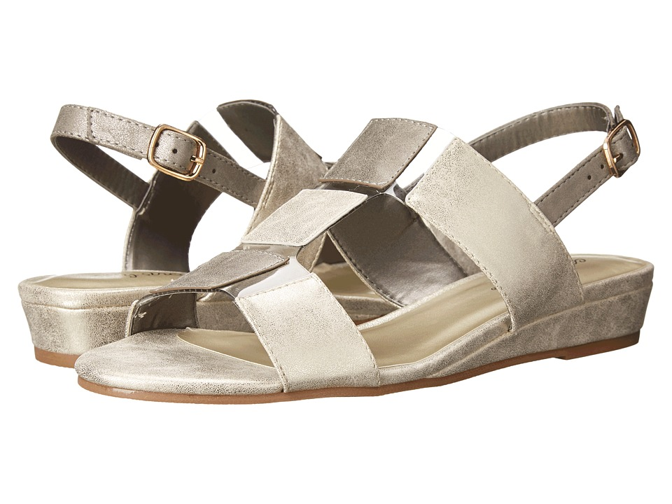 Easy Street - Havana (Gold/Pewter Metallic) Women's Shoes