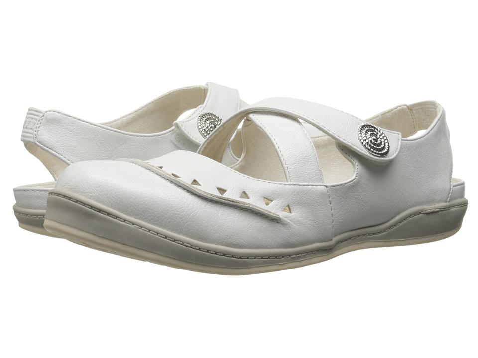 Easy Street - Vienna (White) Women's Shoes