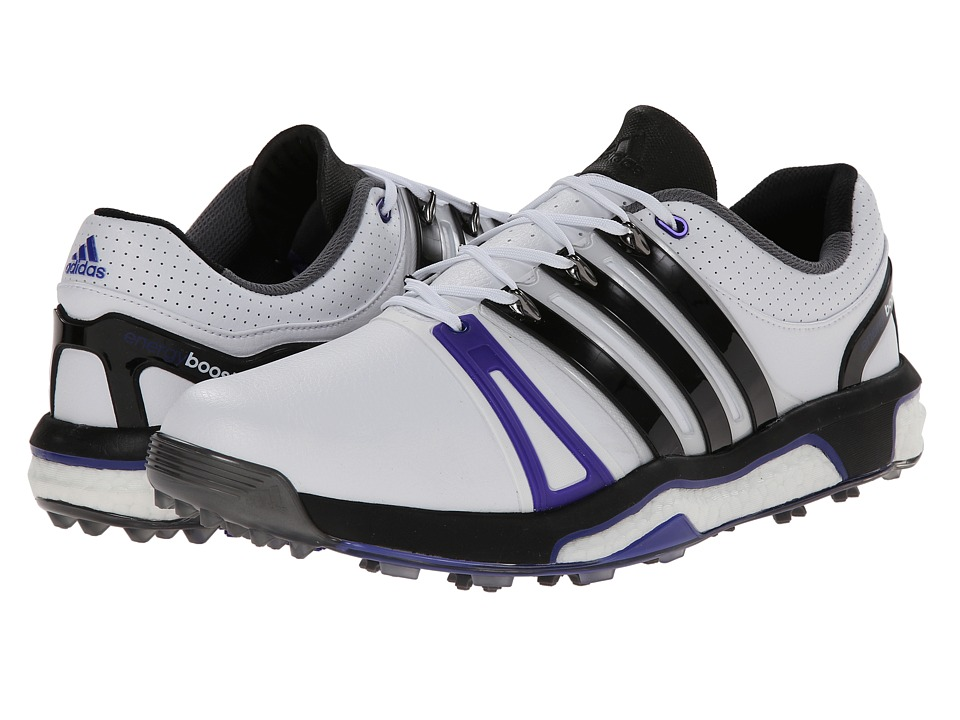 adidas Golf - Asym Energy Boost RH (Running White/Core Black/Night Flash) Men's Golf Shoes