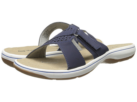 Easy Street - St. Lucie (Navy Nubuck) Women's Shoes