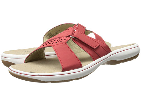 Easy Street - St. Lucie (Red Nubuck) Women's Shoes