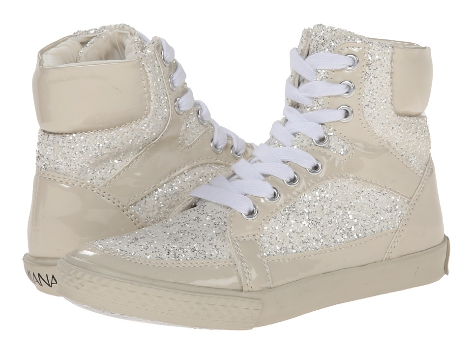 Amiana 15-A5289 (Toddler/Little Kid/Big Kid/Adult) (Bone Patent/Bone Glitter) Girl