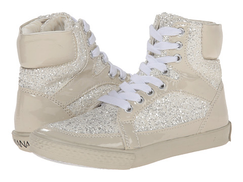 Amiana - 15-A5289 (Toddler/Little Kid/Big Kid/Adult) (Bone Patent/Bone Glitter) Girl's Shoes