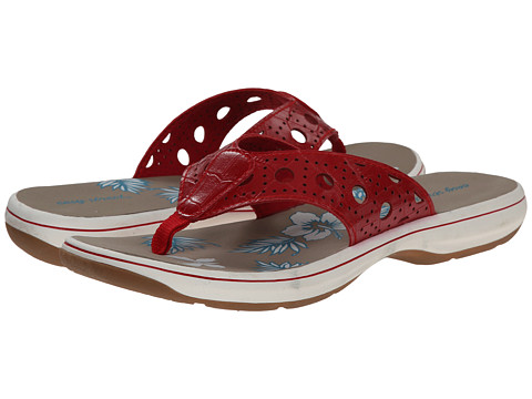 Easy Street - Tropic (Red Croco) Women's Sandals