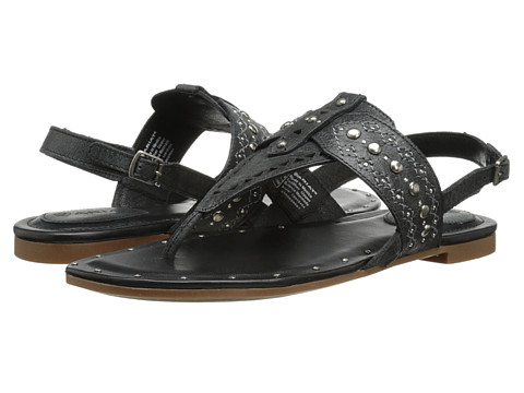 Ariat - Quartz (Black Crinkle) Women's Sandals