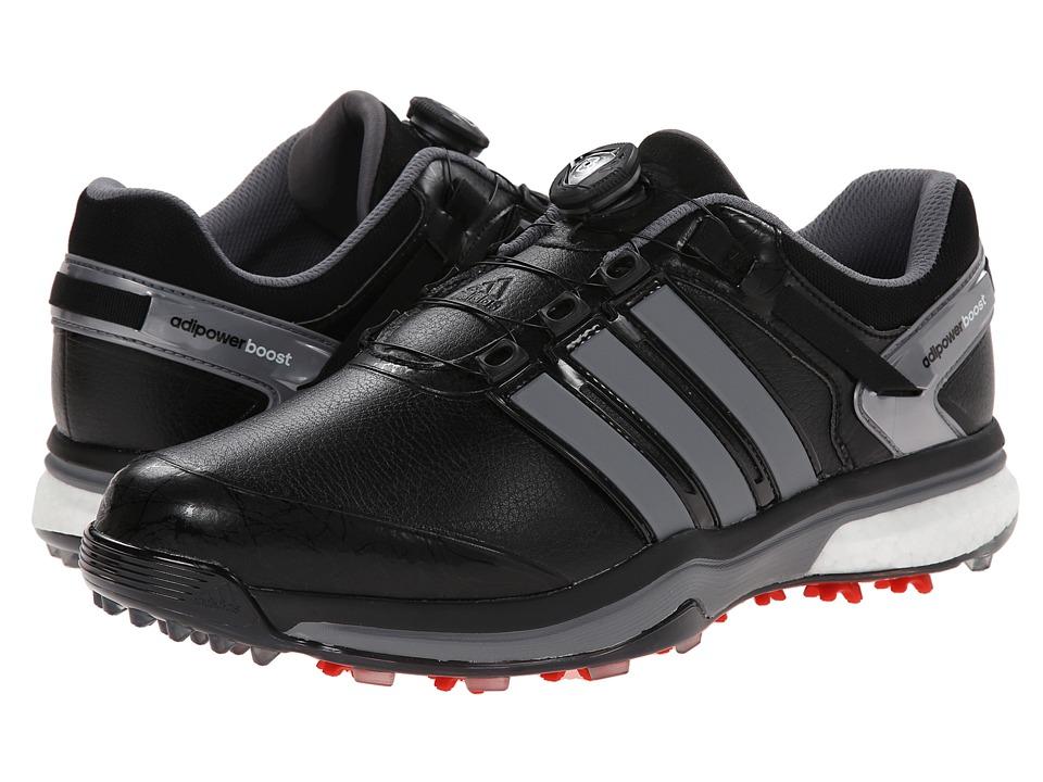 adidas Golf adiPower Boost Boa (Core Black/Iron Metallic/Core Black) Men