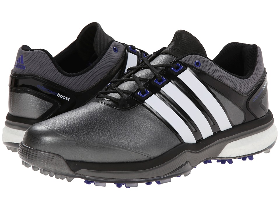 adidas Golf - adiPower Boost (Silver Metallic/Running White/Night Flash) Men's Golf Shoes