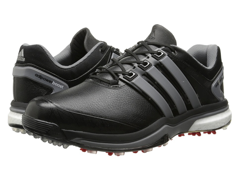 adidas Golf - adiPower Boost (Core Black/Iron Metallic/Core Black) Men's Golf Shoes