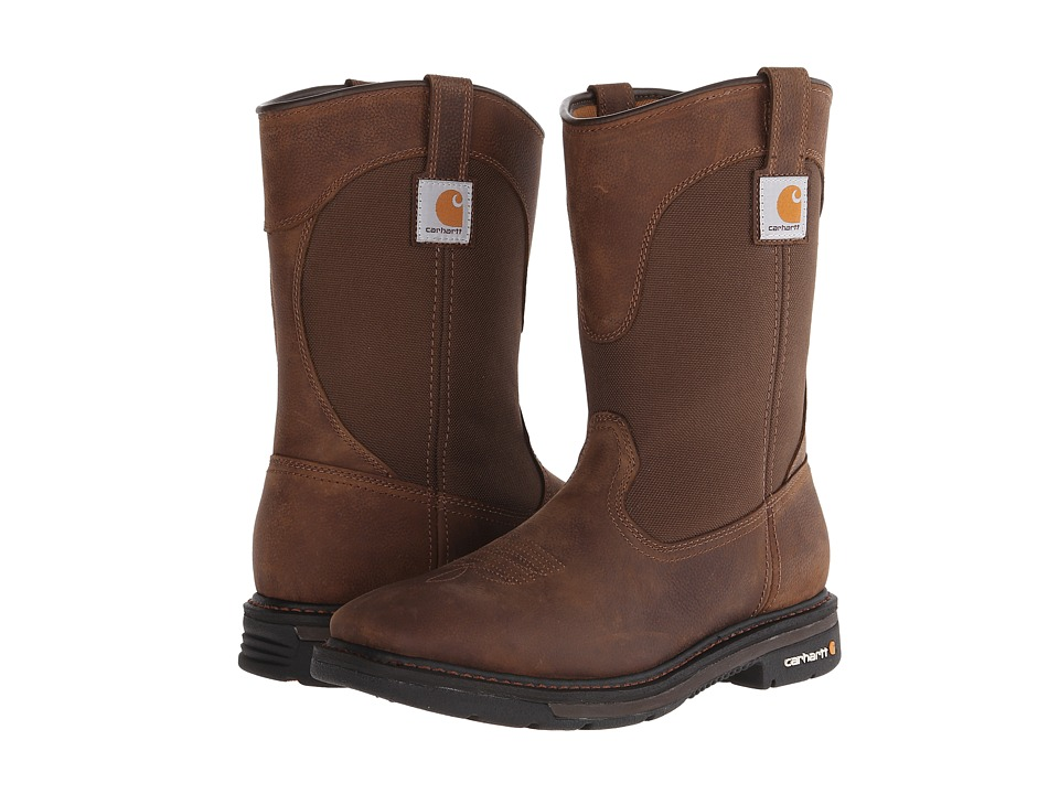 Carhartt - 11 Non-Safety Square Toe Wellington (Dark Bison Brown) Men