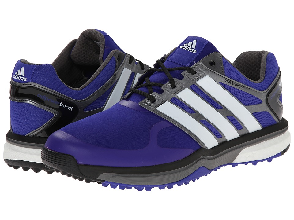 adidas Golf - adiPower Sport Boost (Night Flash/Running White/Dark Silver Metallic) Men's Golf Shoes