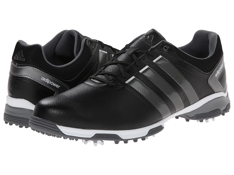 adidas Golf - adiPower TR (Core Black/Iron Metallic/White) Men's Golf Shoes