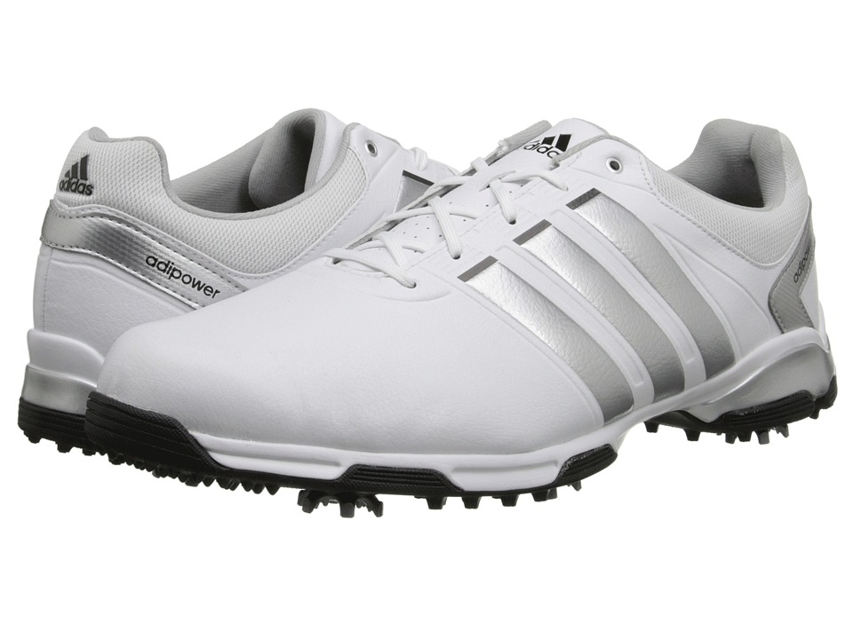 adidas Golf adiPower TR (Running White/Metallic Silver/Core Black) Men