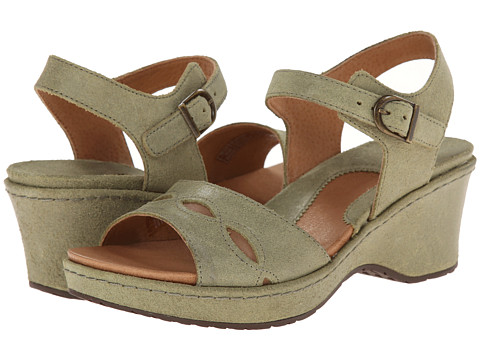 Ariat - Sandy (Olive) Women's Wedge Shoes