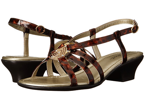 Easy Street - Tripoly (Tortoise Patent) Women's Shoes