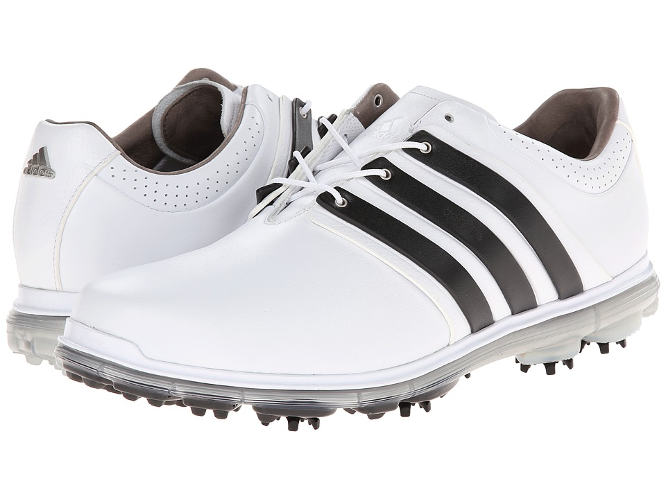 adidas Golf - Pure 360 LTD (Running White/Black/Silver Metallic) Men's Golf Shoes