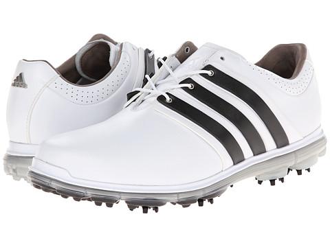 adidas Golf - Pure 360 LTD (Running White/Black/Silver Metallic) Men's Golf Shoes