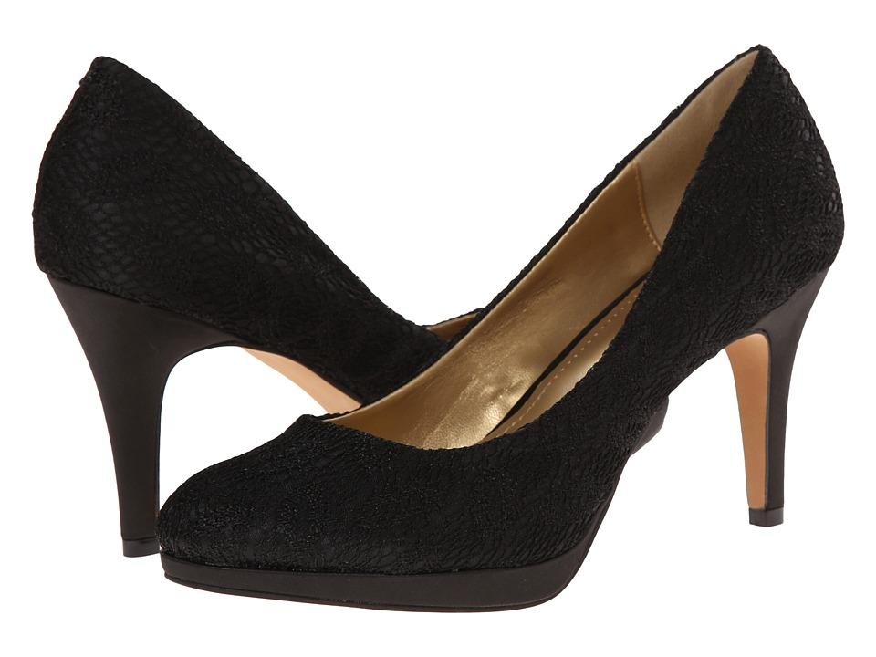 Amiana - 15-A5256 (Big Kid/Adult) (Black Net) Girl's Shoes