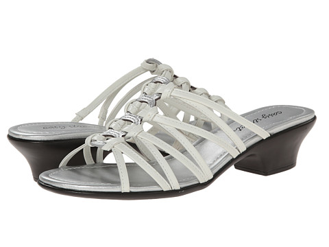 Easy Street - Rio (White/Silver) Women's Shoes