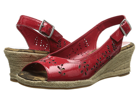 Easy Street - Sedona (Bright Red Patent) Women