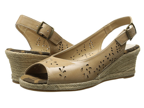 Easy Street - Sedona (Taupe Patent) Women's Shoes