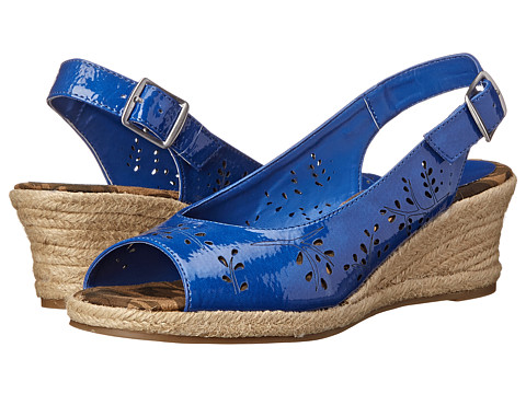 Easy Street - Sedona (Cobalt Patent) Women's Shoes