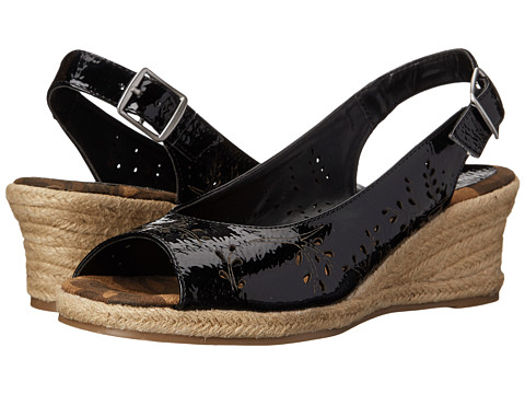 Easy Street - Sedona (Black Patent) Women's Shoes