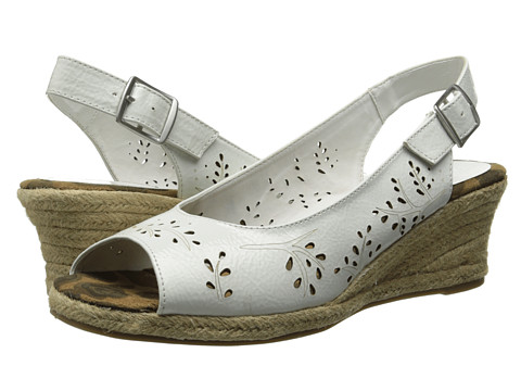 Easy Street - Sedona (White Patent) Women's Shoes