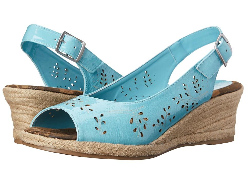 Easy Street Sedona (Turquoise Patent) Women