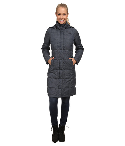 The North Face - Metropolis Parka (Urban Navy Heather) Women's Coat