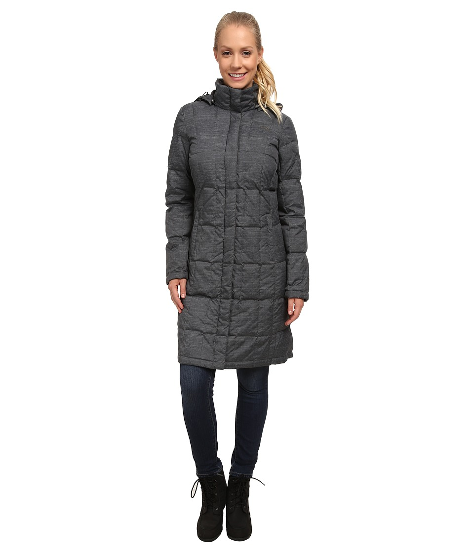 The North Face - Metropolis Parka (Graphite Grey Heather) Women's Coat