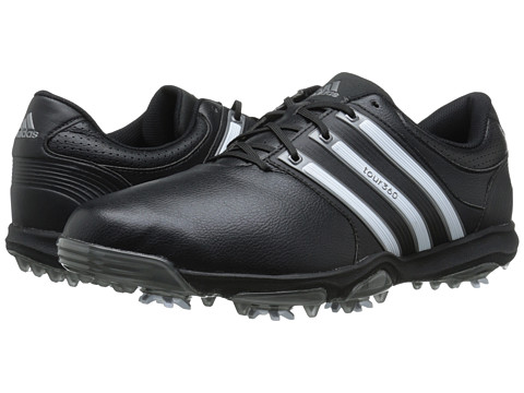 adidas Golf - Tour 360 X (Core Black/Running White/Dark Silver Metallic) Men's Golf Shoes