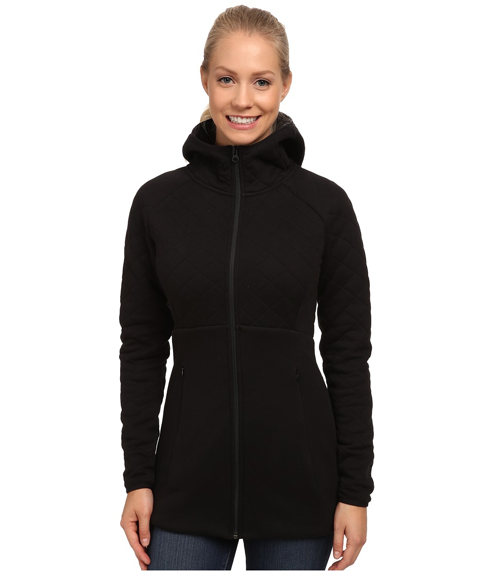 The North Face - Hooded Caroluna Jacket (TNF Black) Women's Coat