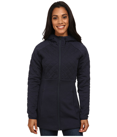 The North Face - Hooded Caroluna Jacket (Urban Navy) Women