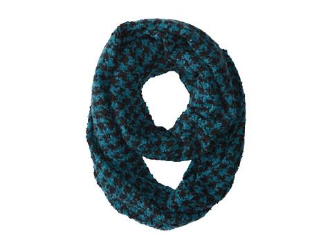 Gabriella Rocha - Houndstooth Knit Scarf (Teal) Scarves