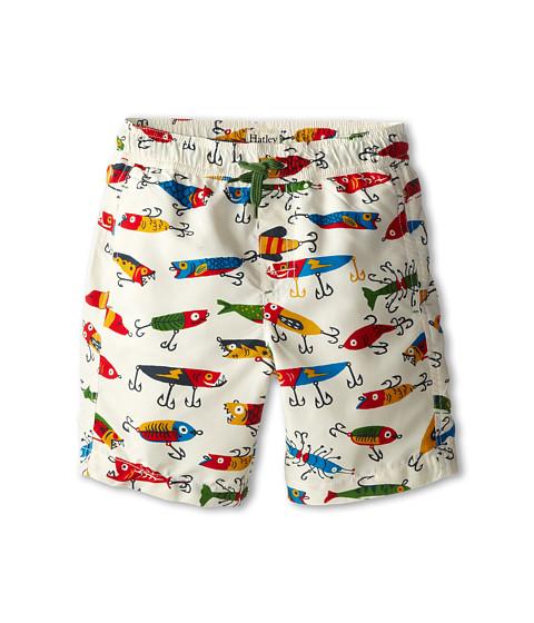 Hatley Kids - Fishing Lures Swim Trunk (Toddler/Little Kids/Big Kids) (Natural) Boy