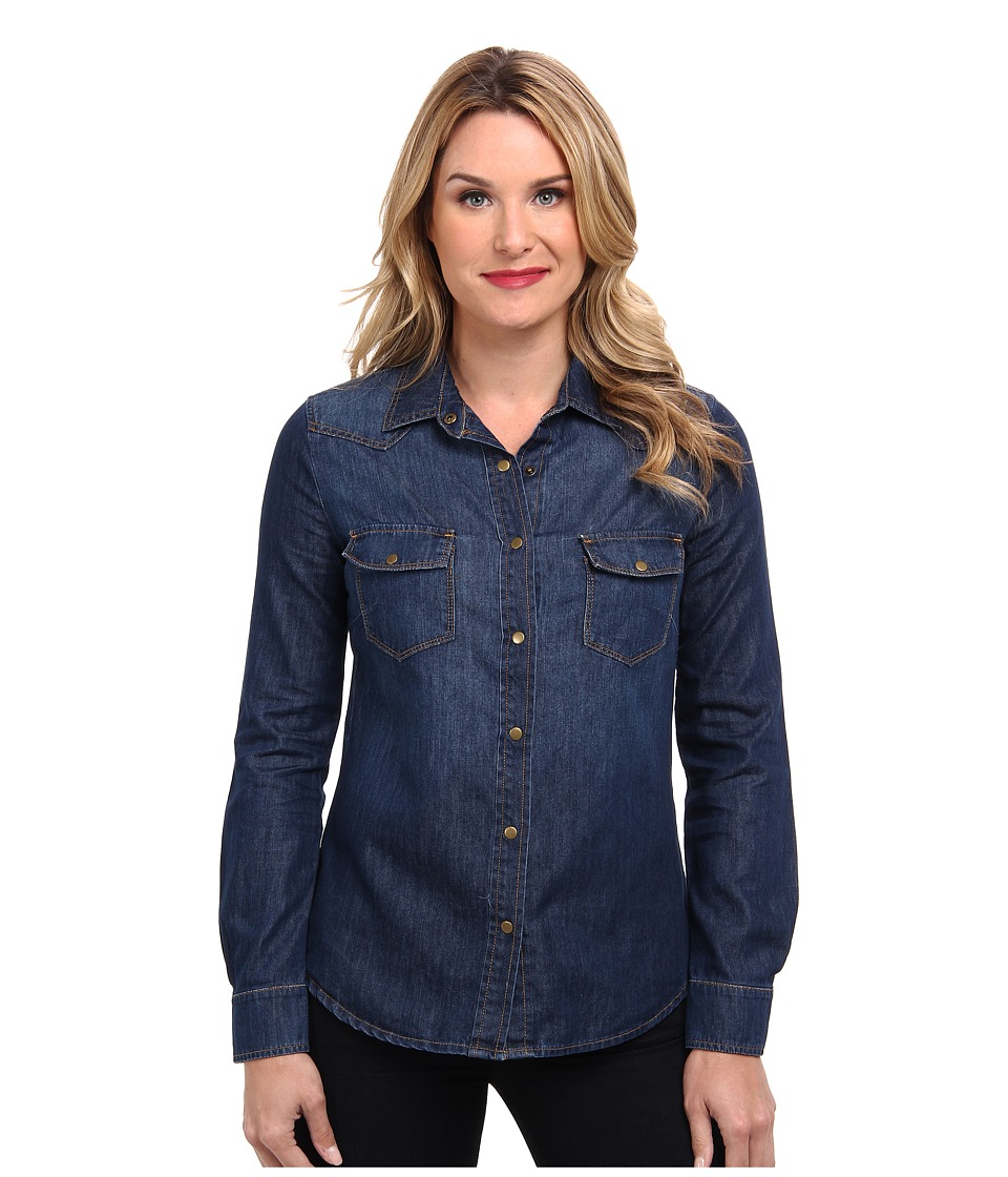 CJ by Cookie Johnson - Gifted Slim Fit Shirt (Flack) Women's Long Sleeve Button Up