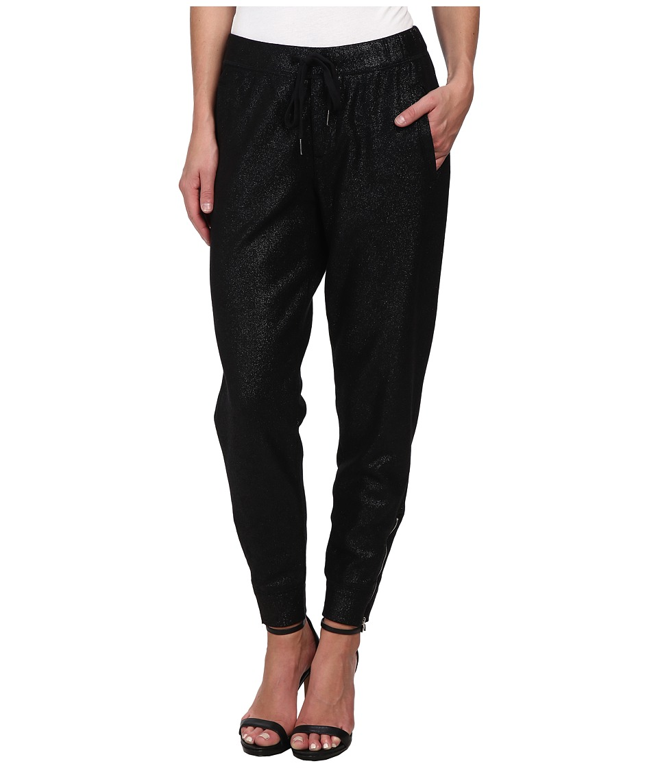 CJ by Cookie Johnson - Hope Trouser Ponte Zipper Leg in Black (Black) Women's Casual Pants plus size,  plus size fashion plus size appare